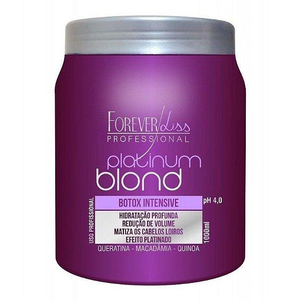 Forever Liss Platinum Blond BBtox Intensive Matizador 1kg