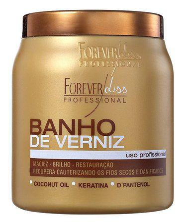 b7e3605db Forever Liss Banho de Verniz Brilho Hidratante 1kg - Madame Real