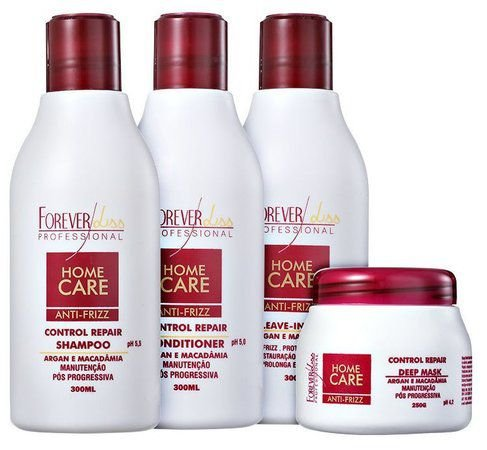 Forever Liss Home Care Manutenção- Kit Pós Progressiva (4 Produtos)