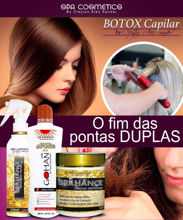 BOTOX POWER GOHAN E BRILHANCE KIT COMPLETO