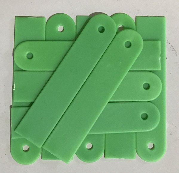 10 Etiquetas E-08 para identificação de plantas - Verde