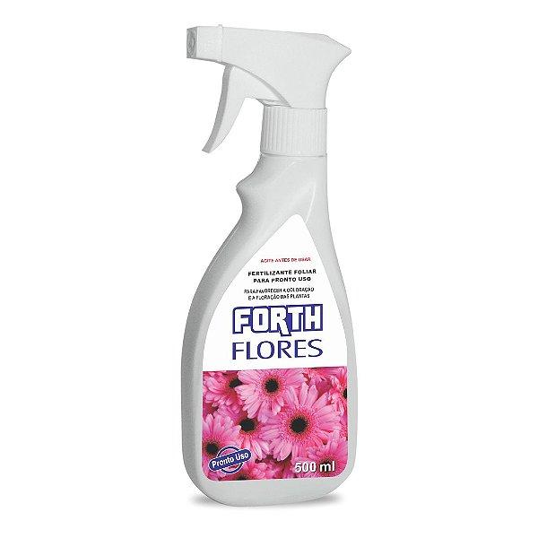 Fertilizante Líquido - FORTH FLORES - Pronto para Uso - 500ml