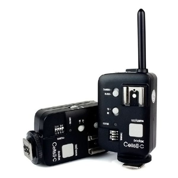 Kit Radio Flash Wireless CellsII-C para Canon