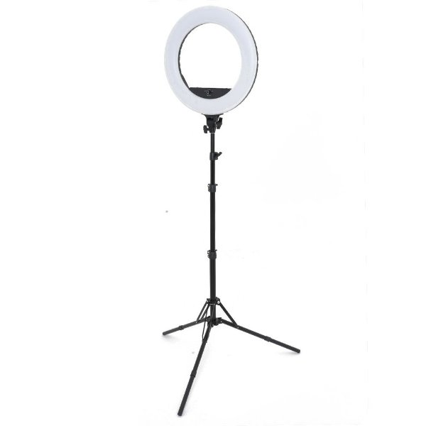 Kit LED Ring Light de 18 polegadas a bateria