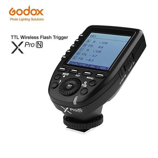 Radio Transmissor Godox X-PRO N - Para Nikon - Atualizado