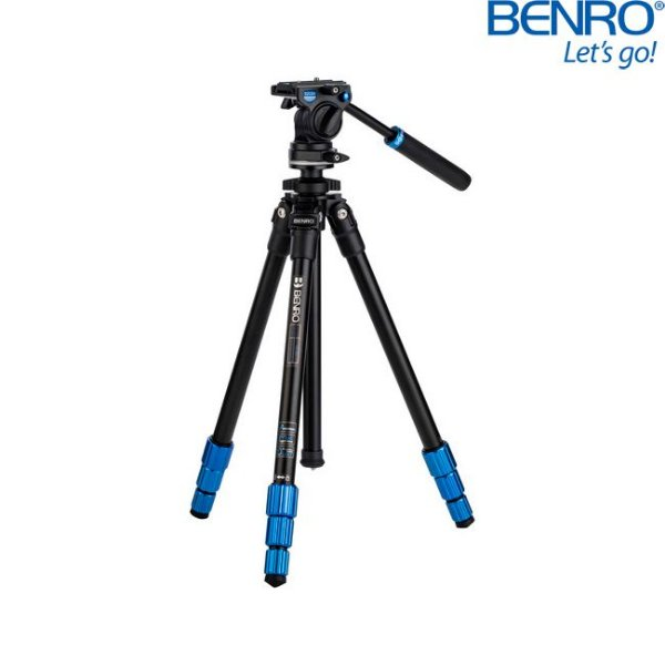 Kit Tripé de Vídeo Benro TSL08AS2CSH