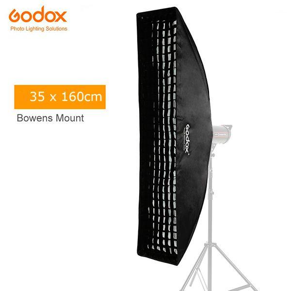 Softbox 35 x 160cm com Grid