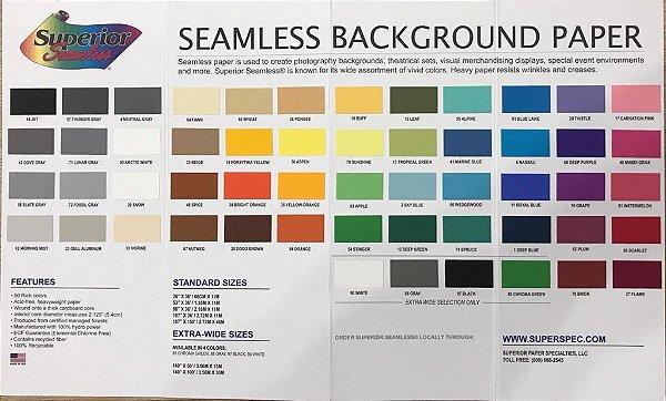 Catálogo De Cores De Fundo Infinito de Papel Superior - Seamless Background Paper