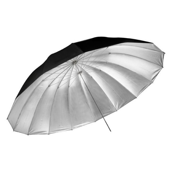 Sombrinha Large Umbrella Silver 190