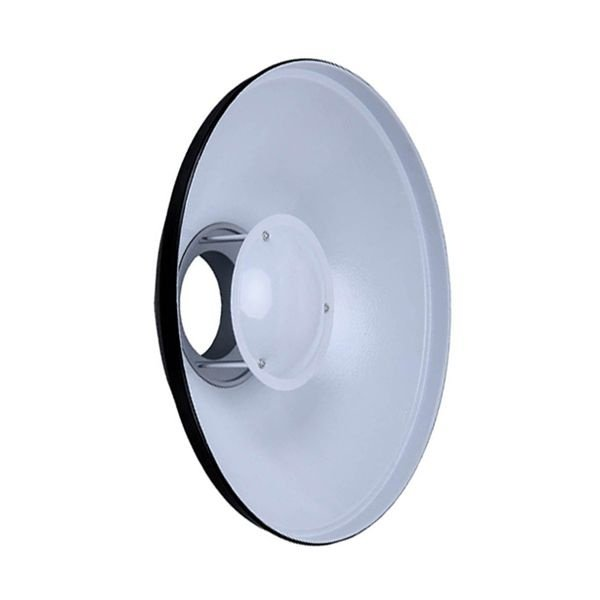 Refletor Beauty Dish Branco 42 + Difusor