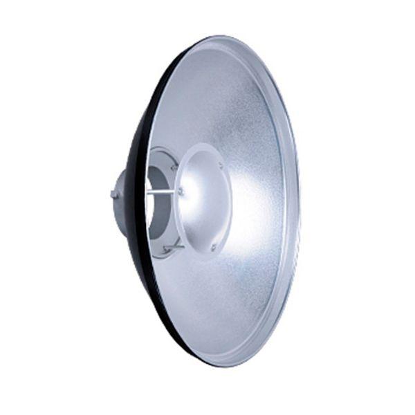 Refletor Beauty Dish Prata 40 + Difusor