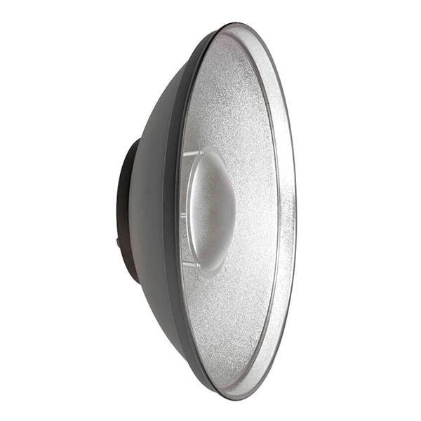 Refletor Beauty Dish Prata 42 + Difusor
