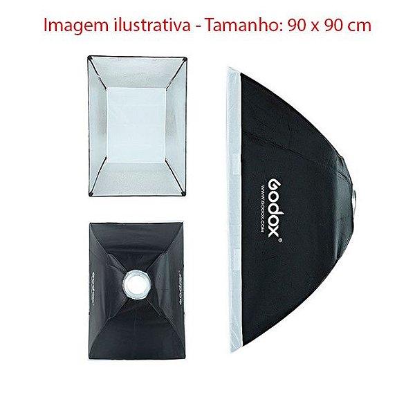 Softbox 90 x 90 cm - Godox / Greika