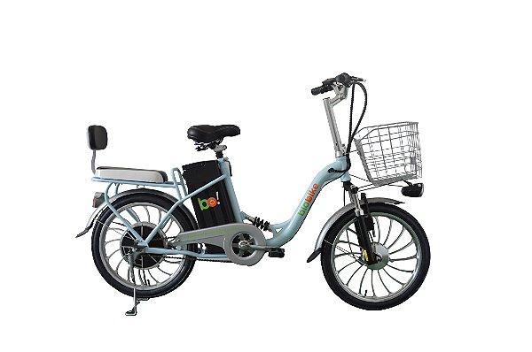 Bicicleta Elétrica Biobike, Quadro em Aço, Modelo URBANA
