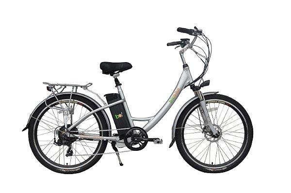 Bicicleta Elétrica Biobike, Quadro em Alumínio, Modelo STYLE