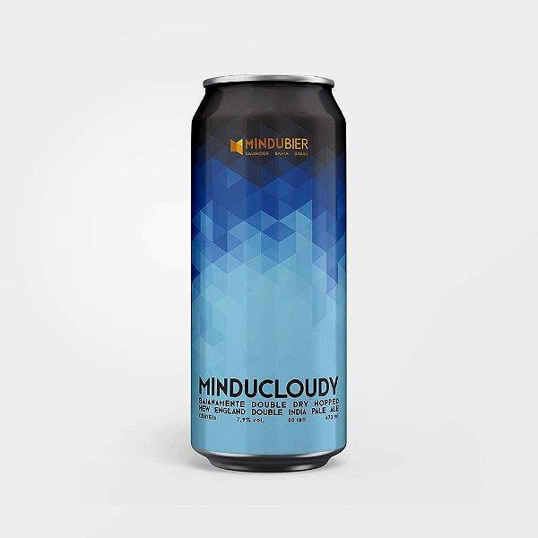 Cerveja MinduCloudy New England Double IPA Lata 473ml