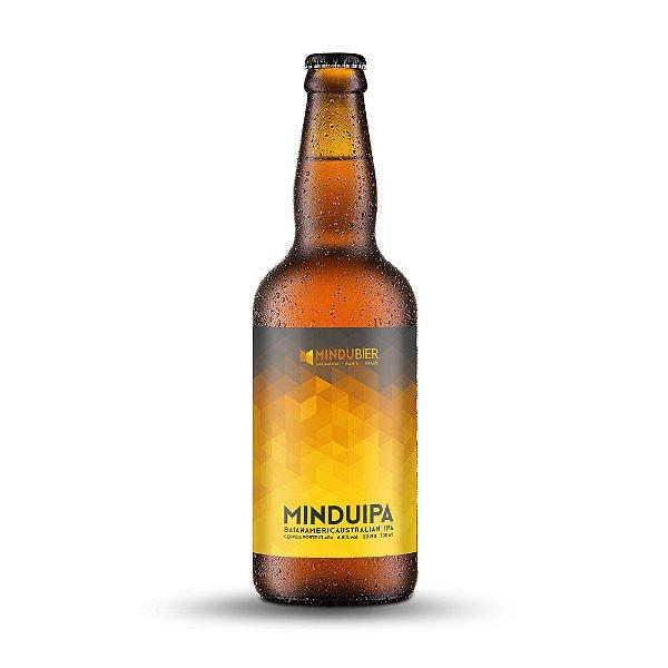 Cerveja MinduIPA West Coast IPA Garrafa 500ml