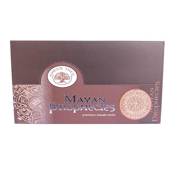 Incenso Mayan Prophecies Premium Box com 12 Unidades