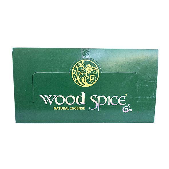 Incenso Wood Spice Box com 12 Unidades