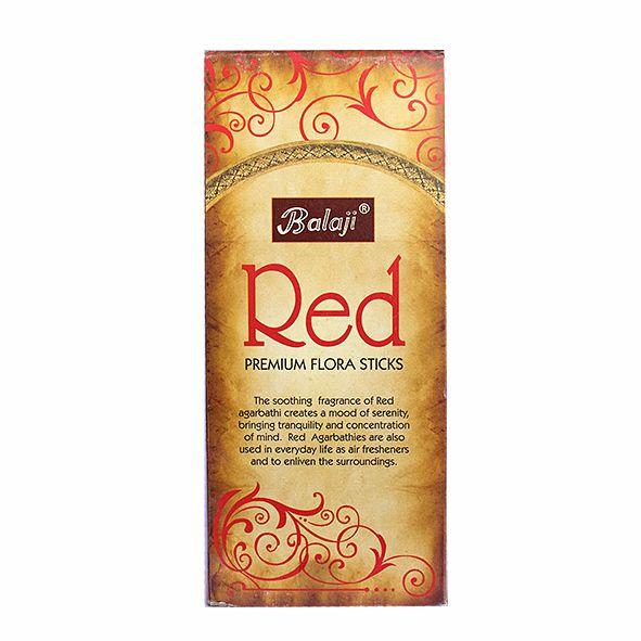 Incenso Red Premium Flora com 12 Unidades