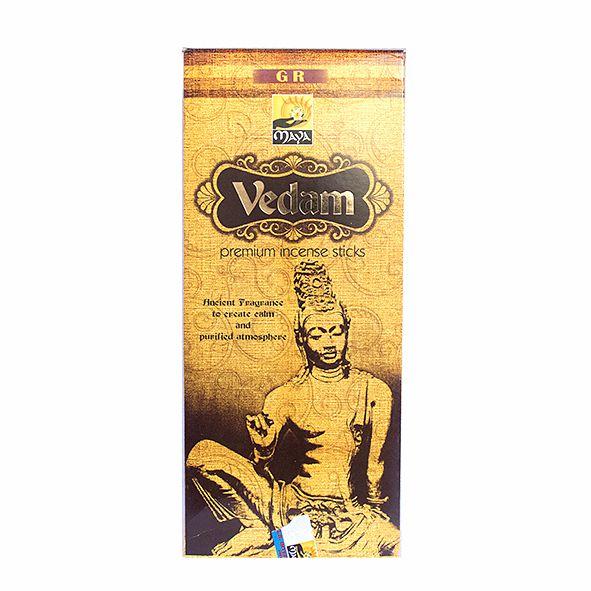 Incenso Vedam Premium com 12 Unidades