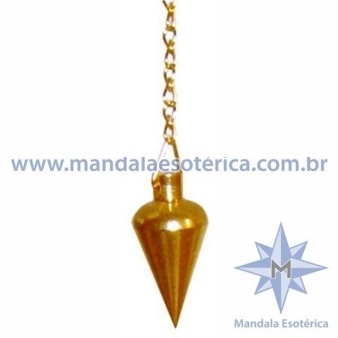 Pêndulo Pião Ouro