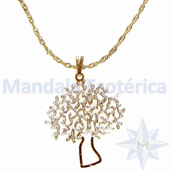 Gargantilha Árvore da Vida Ouro