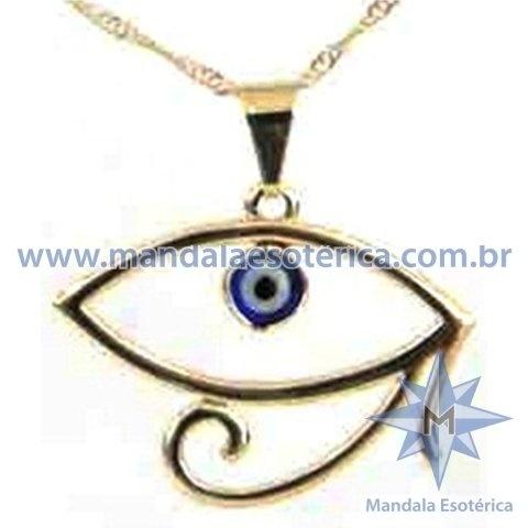 Gargantilha Olho de Hórus com Detalhe