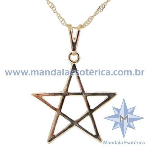 Gargantilha Pentagrama