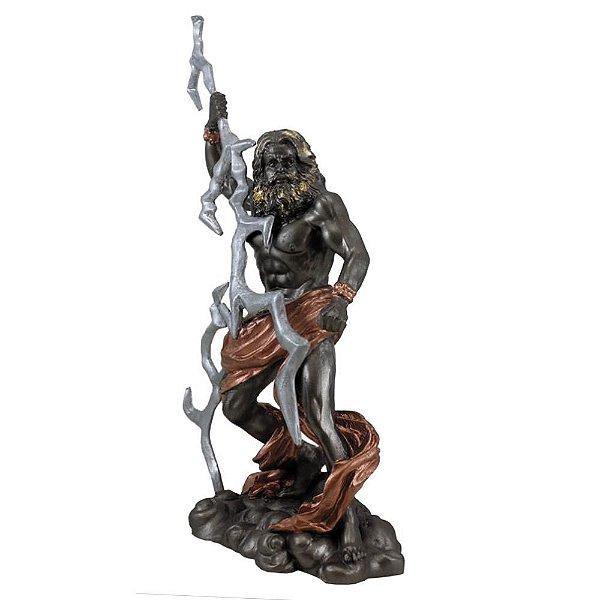Deus do Olimpo Zeus - Júpiter