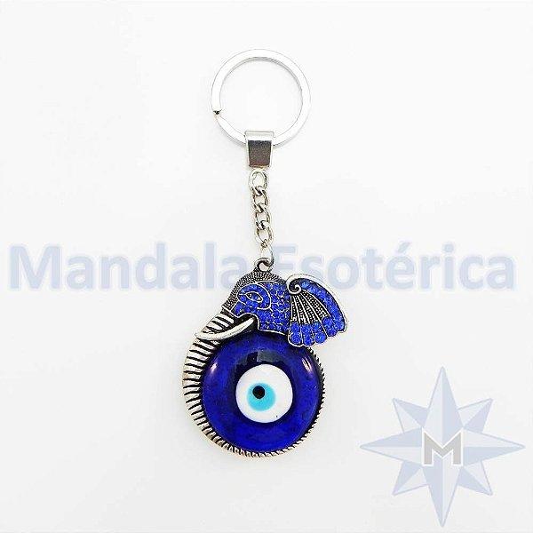 Chaveiro Cabeça de Elefante Olho Grego