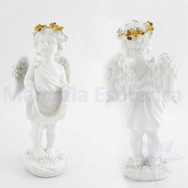 Anjo Branco Lenço na mão A