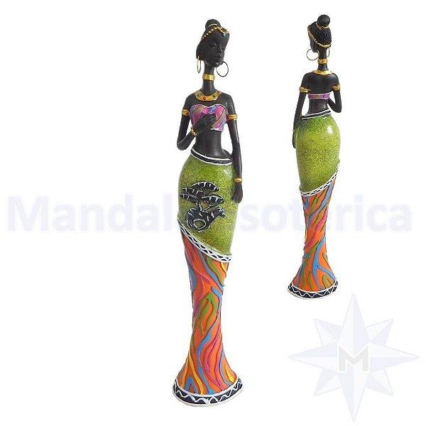 Africana Saia Longa com Zebra D