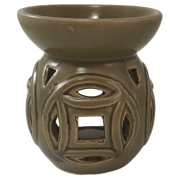 Rechô em Cerâmica Redondo Vazado