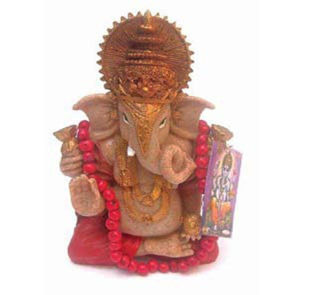 Ganesha Vermelho com japamala