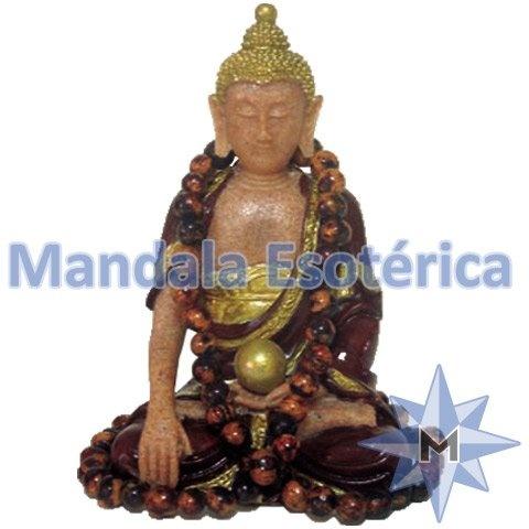 Buda Tibetano Marrom P