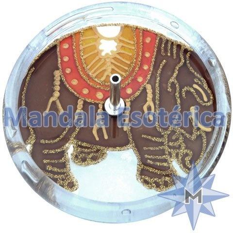 Incensário redondo elefante