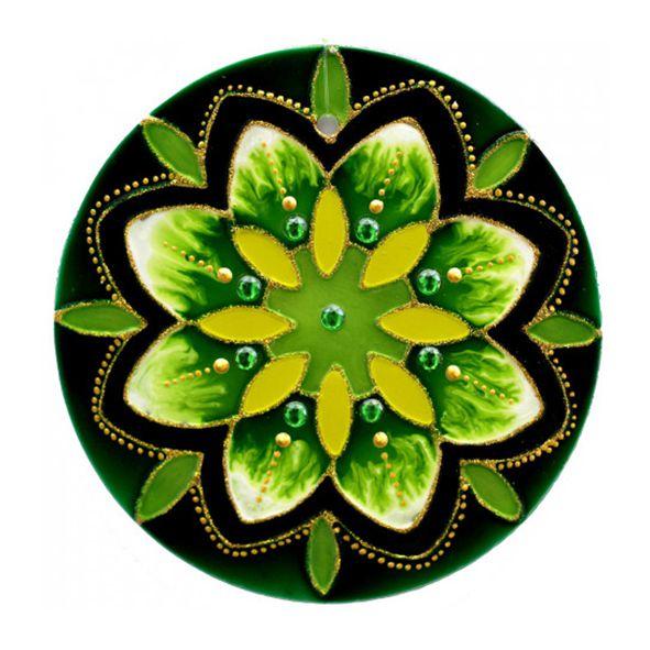 Mandala Verde Esperança - Grande