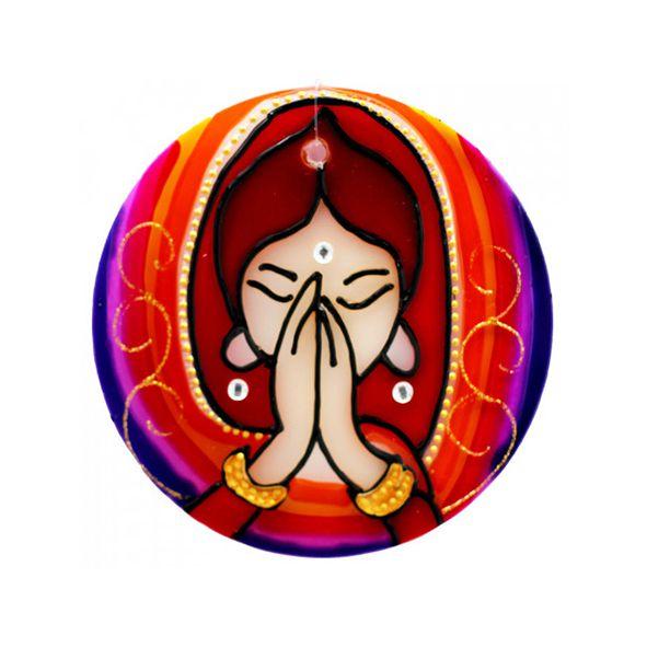Mandala Namastê - Média