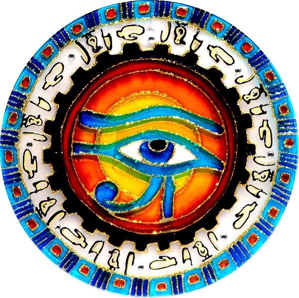 Mandala Olho de Horus Média