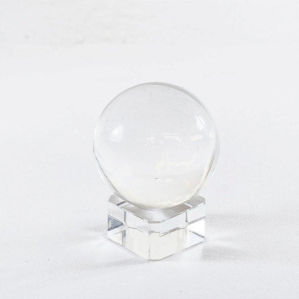 Bola de Cristal 3cm com Base