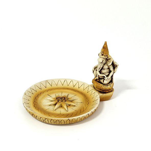 Incensário Prato Ganesha
