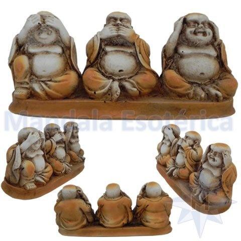 Budas Envelhecidos Nada Vejo, Nada Falo e Nada Ouço