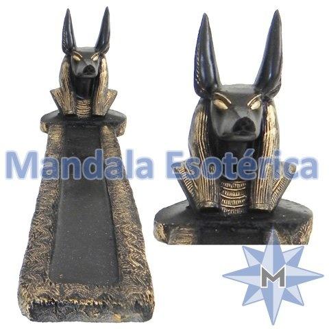 Incensário egípcio Anúbis