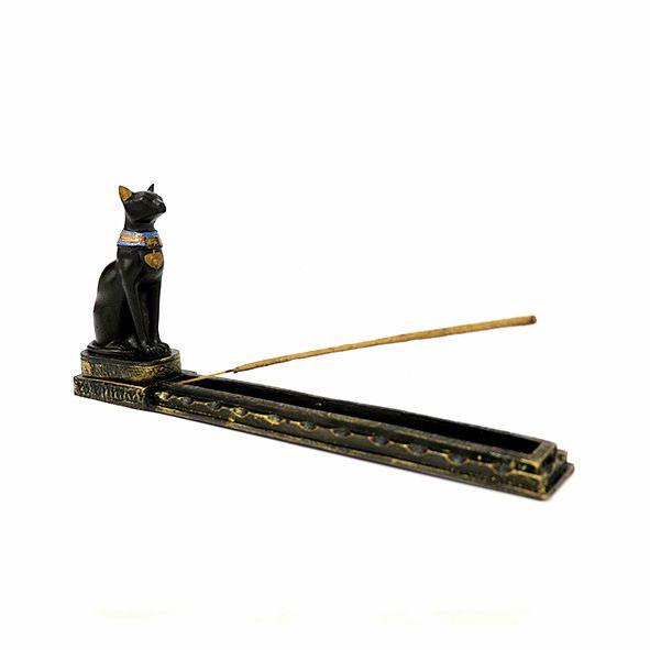 Incensário Gato Bastet - M