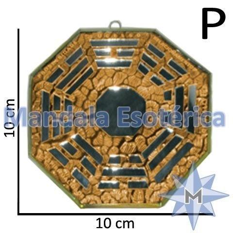 Bá-Gua Espelhado Laranja - 10 cm