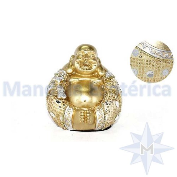 Buda Bolinha Dorado