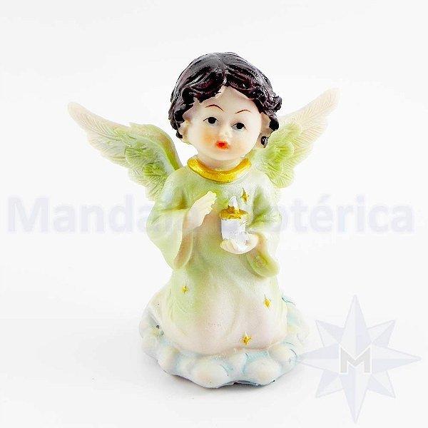 Anjo Na Nuvem com Vela A