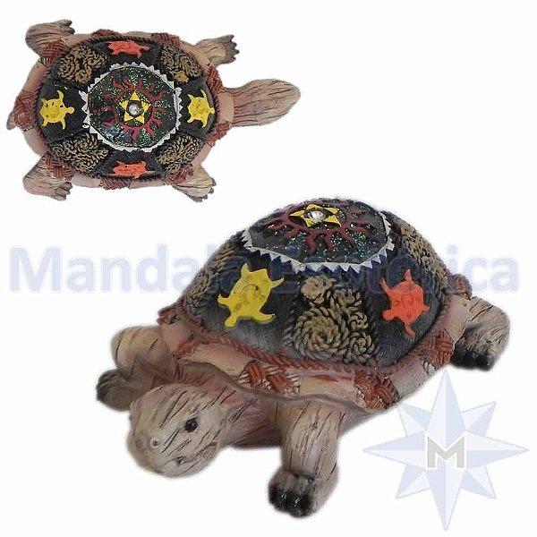 Tartaruga Colorida de Resina B