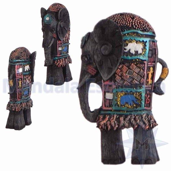 Elefante Longo Colorido - C